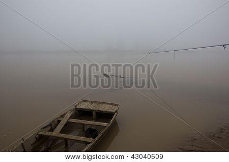 Foggy River In Punjab