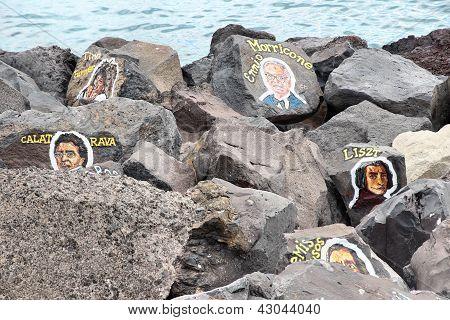 Tenerife Musician Paintings
