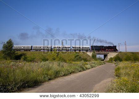Retro Steam Train