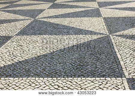 Calcada Portuguesa, portugiesischer Bürgersteig