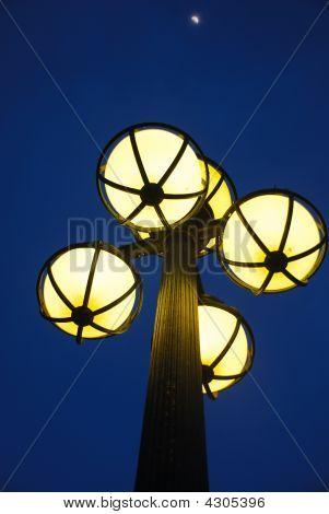 Street Light At Night