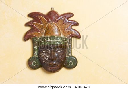 Ornate Myan Mask