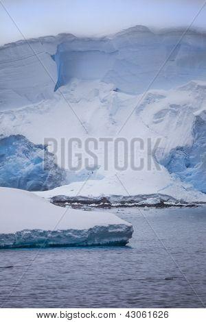 Antarctic Iceberg Standing Tall