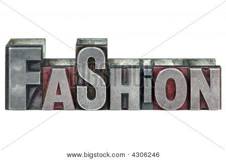 Moda de tipografía