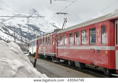 Glacier Express, St Moritz
