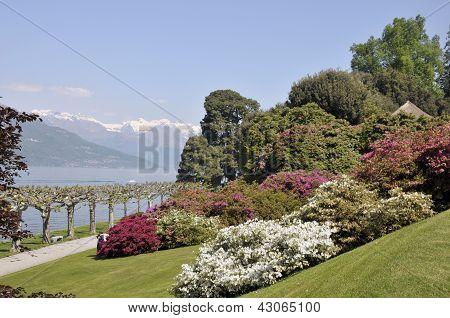 Lake Como from Villa Melzi