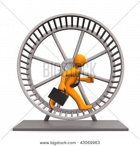 Hamster Running Wheel