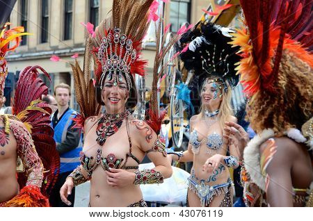 Dancers, Merchant City Festival, Glasgow