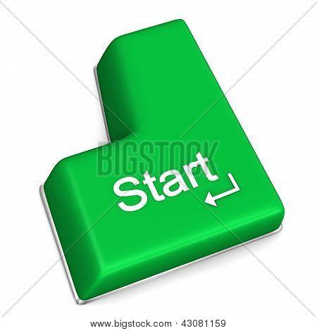 Start Enter Key