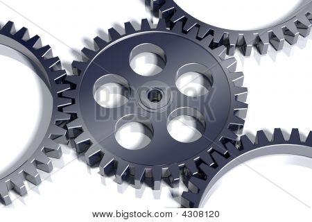 3D Steel Gears.