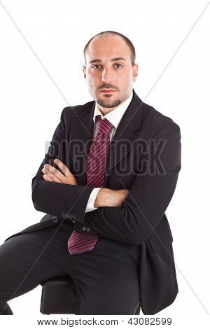 Boss On Footstool