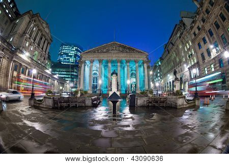 The Royal Stock Exchange, London, England, Uk