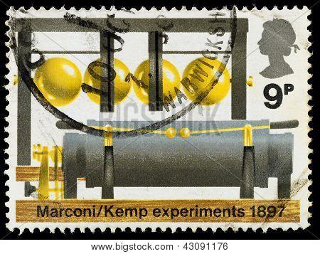 Britain Bbc 50Th Anniversary Postage Stamp