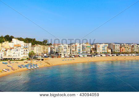 Blanes In Summertime. Costa Brava, Girona.