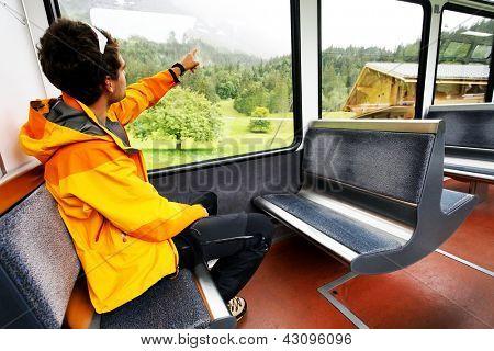 Jungfrau Bahn travel, Berner Oberland, Switzerland