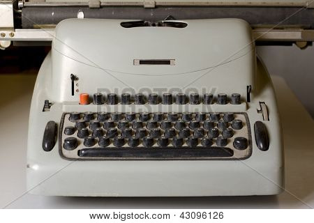 Old Dirty Retro Typewriter