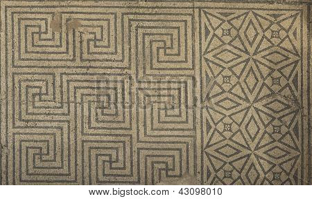 Roman Geometrical Frame