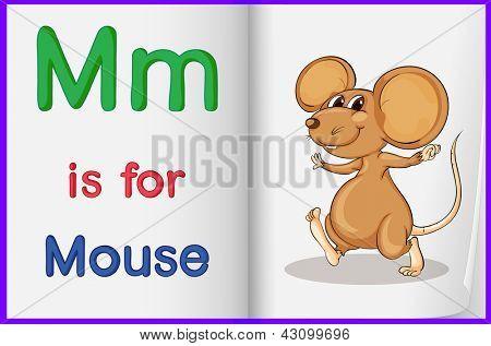 Hoja de trabajo de alfabeto para la letra M
