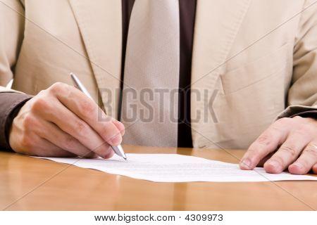 Important Signature