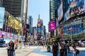 stock photo of broadway  - NEW YORK CITY  - JPG