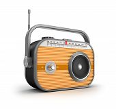 stock photo of transistor  - Retro radio concept - JPG