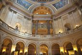 Interior View Of Rotunda At Minnesota State Capitol