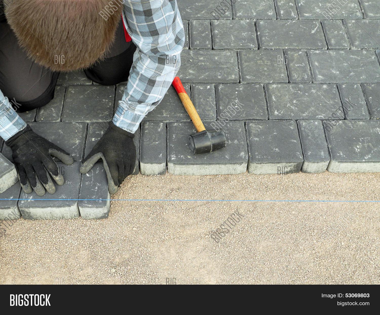 Укладка тротуарной плитки своими руками - как класть 49