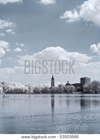 White Lake And Church