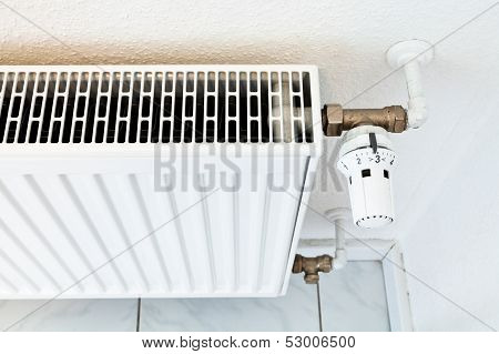 White Home Heat Radiator