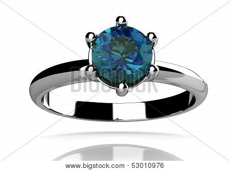 Alexandrite Ring (high Resolution 3D Image)