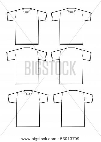 Apparel shirts template t-shirt templates