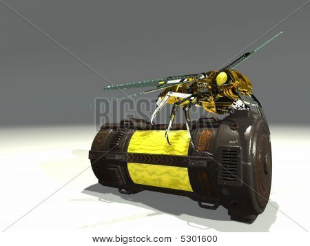 mechanical wasp