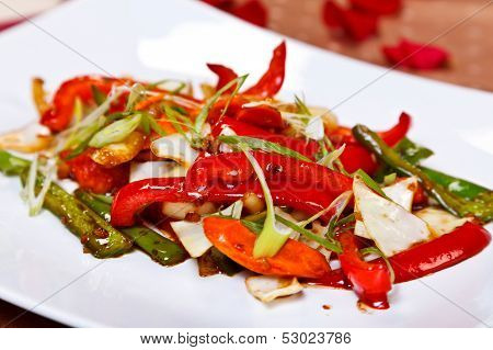 Oriental Main Course - Stir Fried Vegetables