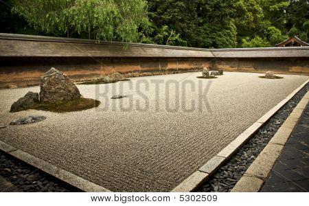 Rock Garden Ryoanji - Kyoto, Japan