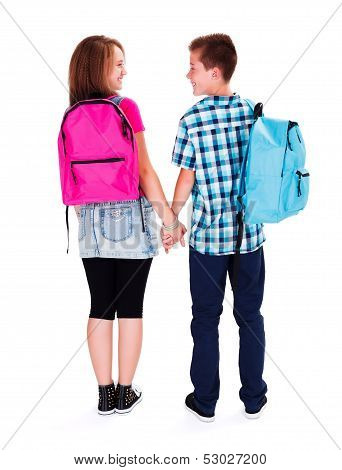 Teenage Love - Holding Hands