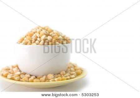 Cup Of Corn Kernels