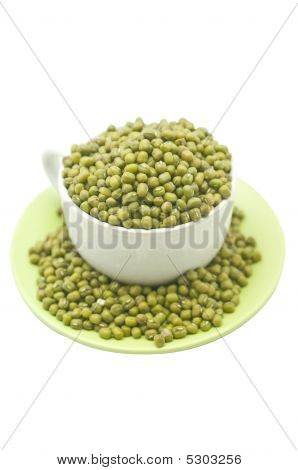 Cup Of Mung Beans