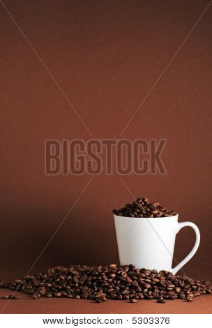 Coffee Beans And Mug Port