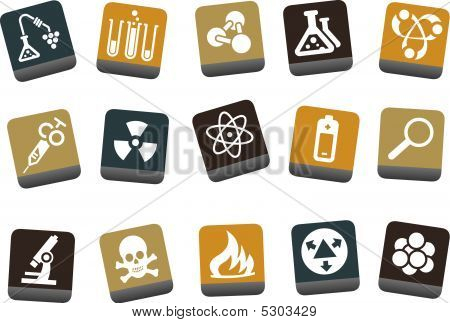 Research icon set