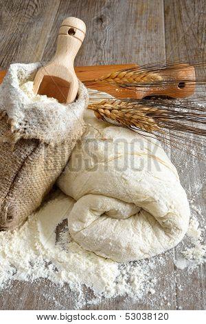 Pizza Dough And Bread