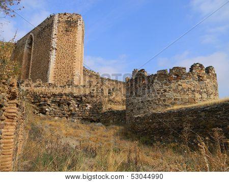 Battlements , Castle Of Montalban , San Martin De Montalban , Toledo