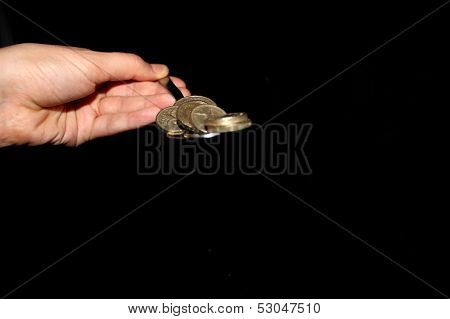 Image of Money on Spoon