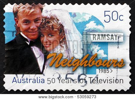 Postage Stamp Australia 2006 Neighbours, Television Show