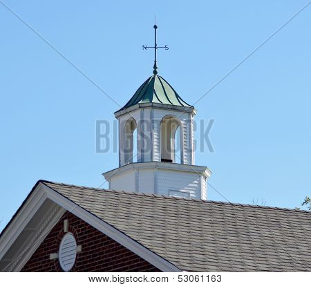 Cupola and Wind Vane on Library Roof