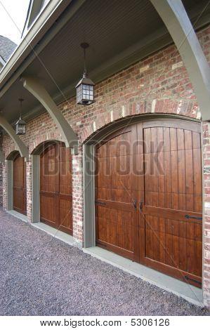 Portas de garagem personalizado
