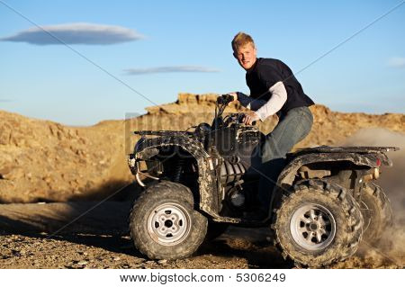 Quad - Teen Driving Four Wheeler Atv