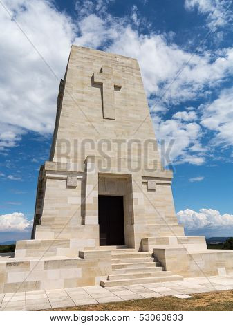 Memorial Stone At Anzac Cove Gallipoli