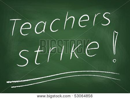 Teachers-strike