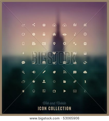 Web and Mobile Icon Collection