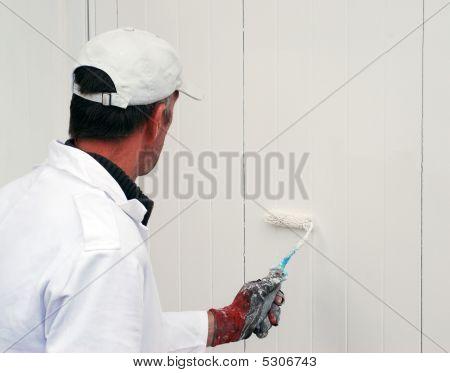 Painting Garage Door